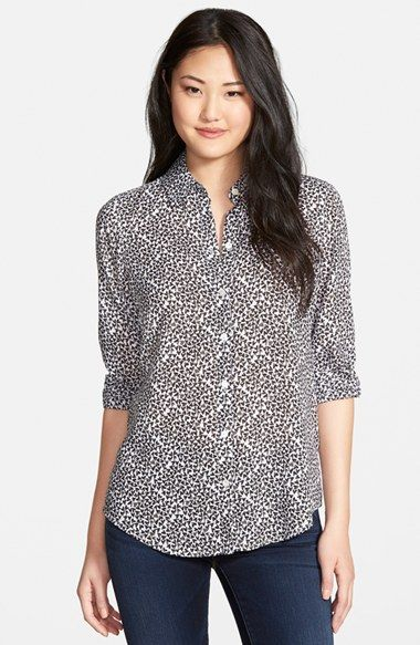 stores Shirt Paris      Tencel clothings   Paris  Shirts      Love Women     s womens and Nordstrom Foxcroft Print