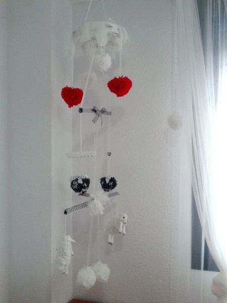 BABY MOBILE/CARRUSEL de DOITFORNELE por DaWanda.com