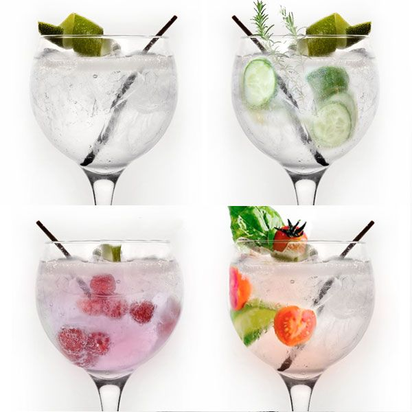 3 fun versions of a classic Gin and Tonic / 3 versiones divertidas de un clásico Gin Tonic