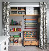 9 Craft Room Makeover Ideas #craftstudio-craftroomideas