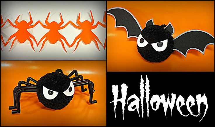 DIY: Decoración para Halloween. Halloween decorations.