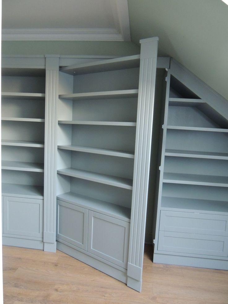 Hidden Doors Bookcase Doors : Best images about secret bookcase door on pinterest