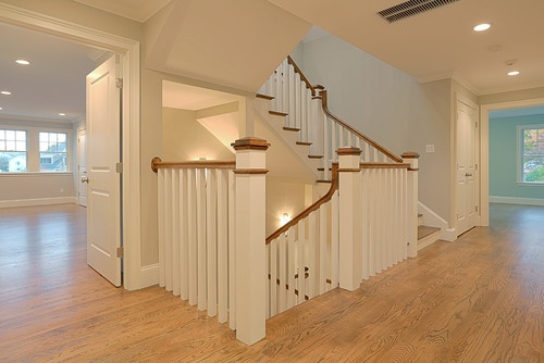 Traditional Staircase Staircases And Traditional On Pinterest