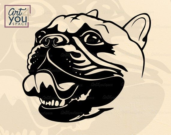French Bulldog Svg Dog Svg Files For Cricut Funny Frenchie Etsy Bulldog Unique Vinyl Decals Svg