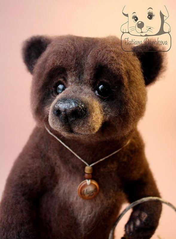 STUNNING!  *NEEDLE FELTED ART ~ Авторские игрушки Татьяны Бараковой.