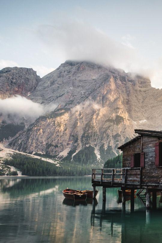 Lago di Braies, Italy, by Luca Bravo