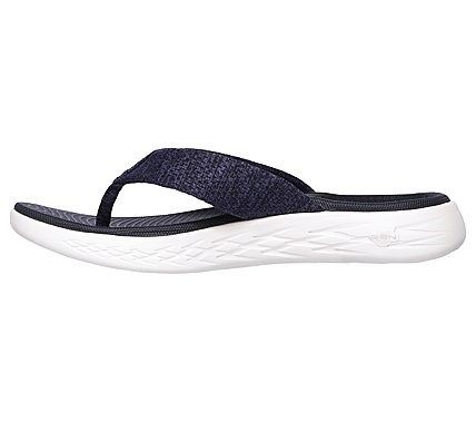 4fffba358 Skechers Women s On The GO 600 Preferred Thong Sandals (Navy White ...