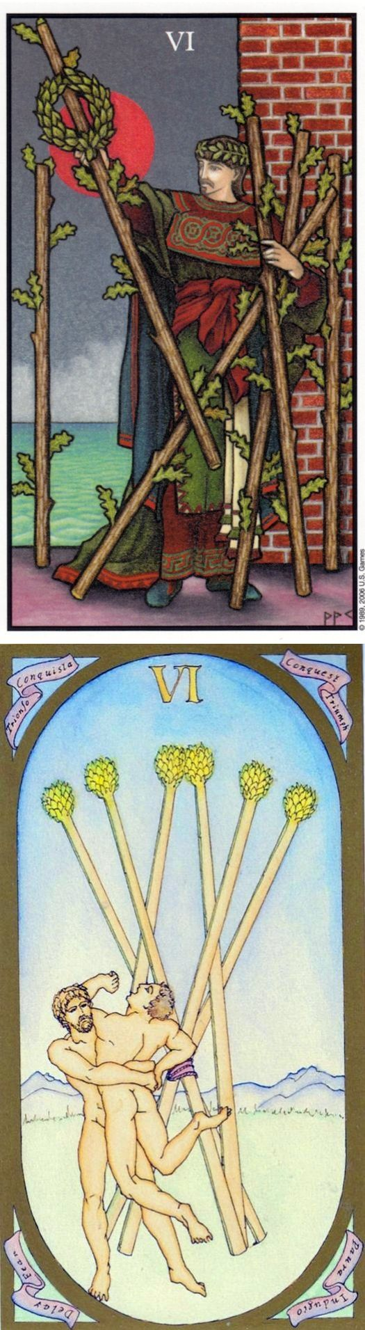 Six of Wands: victory and lack of recognition (reverse). Connolly Tarot deck and Renaissance Tarot deck: ta rot, tarot live yes no vs free tarot reading yes no. The best divination spell and cartomancy.