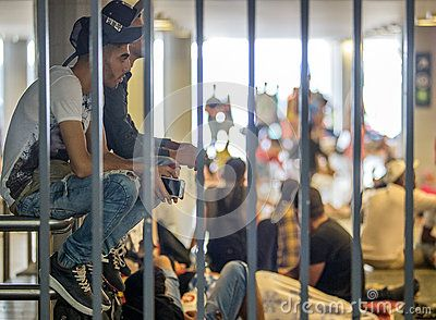 Syrian Refugees At Keleti Train Station - Download From Over 39 Million High Quality Stock Photos, Images, Vectors. Sign up for FREE today. Image: 59552217