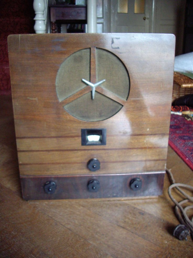 rare vintage murphy model a4 valve radio 1930 39 s art deco style old tube radios pinterest. Black Bedroom Furniture Sets. Home Design Ideas