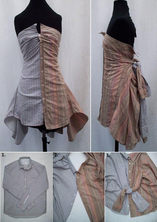 Как переделать платье своими руками фото россии