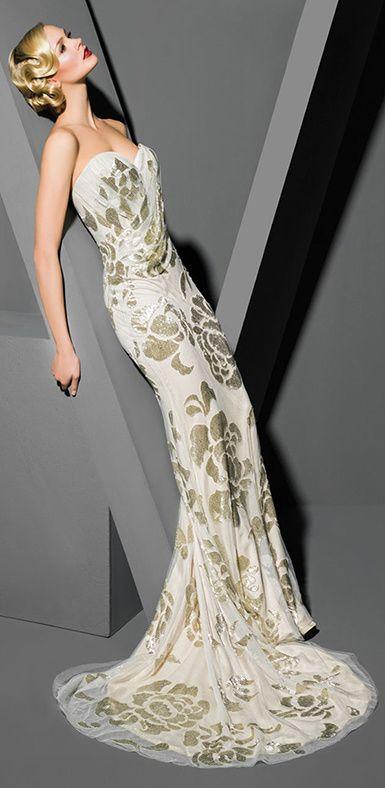 Victor Harper wedding gown #artdeco #20s #vintage #gatsby