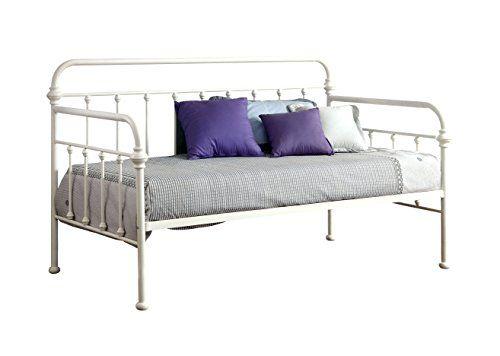 Furniture of America Florian Metal Daybed, Vintage White ... http://smile.amazon.com/dp/B00UYL203A/ref=cm_sw_r_pi_dp_Z3gtxb1WM24JC