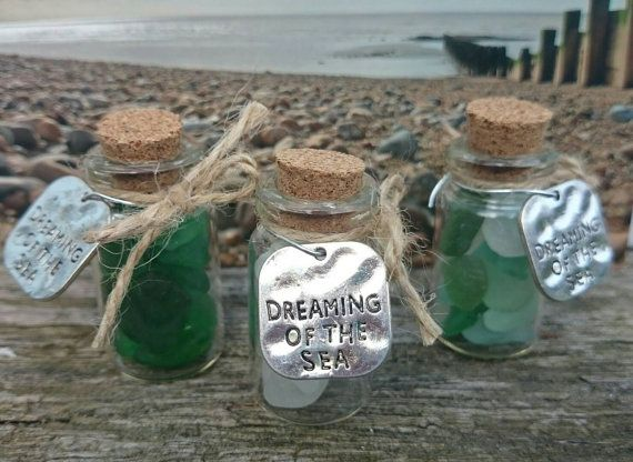 Check out this item in my Etsy shop https://www.etsy.com/uk/listing/294421105/sea-glass-dreams-mini-bottles-of-frosted