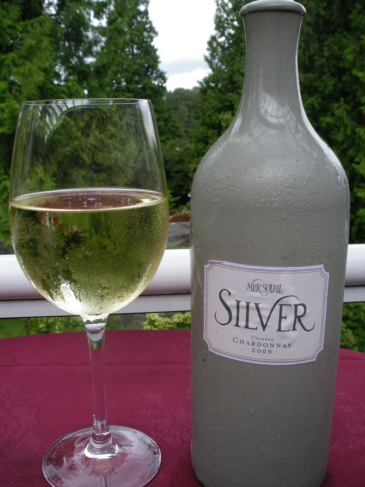 Mer Soleil Silver Chardonnay (Unoaked), CA available by the bottle at the Westward Ho! and for wedding receptions.  The higher acidity in this wine makes it a perfect accompaniment to a wide array of food, particularly fresh summer salads, grilled seafood, tomato-based dishes and guacamole.