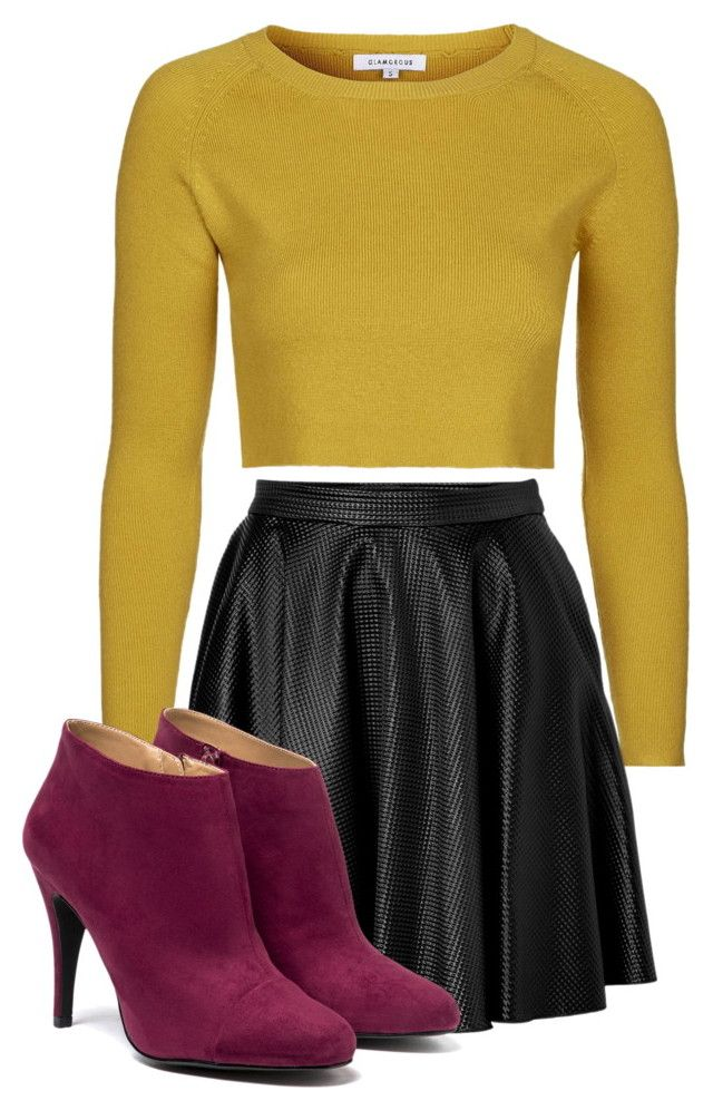 ⛅️☀️ by betti-nyilas on Polyvore featuring polyvore, fashion, style, Topshop and Faith Connexion