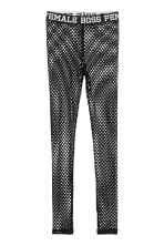 Jersey leggings - Black/Mesh - Ladies | H&M GB 2