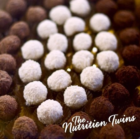 Oreo No-Bake Mint Balls! | Lightened Traditional Version So Easy | Only 95 Calories | For MORE RECIPES please SIGN UP for our FREE NEWSLETTER www.NutritionTwins.com
