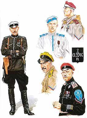 Russian Civil War White Guards