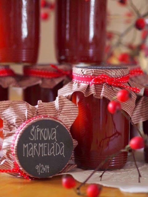 marmeláda ze šípků