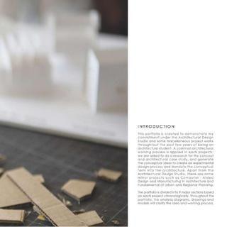 2013 Graduate Architecture Portfolio