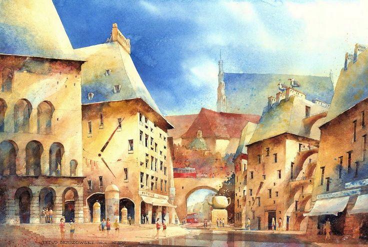 """""""Przygoda na Mariensztacie"""" // """"Adventure on Mariensztat"""", 2012 (70x100cm)"""