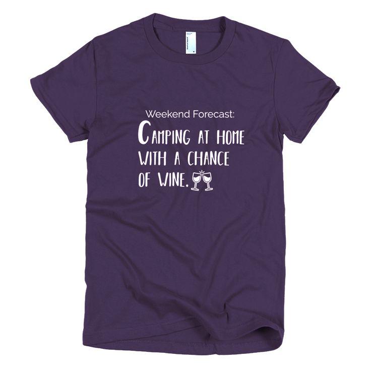 Weekend Forecast Women's t-shirt