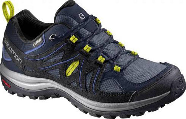Salomon Ellipse 2 GTX wandelschoenen  Description: De Salomon Ellipse 2 GTX wandelschoen combineert een vrouwelijke pasvorm en vrouwelijke details met een waterdichte bescherming voor een lange wandeling of tocht op een gemiddeld terrein. De SensiFit? technologie zorgt ervoor dat de schoen vrijwel meteen comfortabel zit. De wandelschoen is voorzien van GORE-TEX's Extended Comfort wat ervoor zorgt dat je voeten droog en comfortabel blijven tijdens het lopen. De slijtvaste voering maakt de…