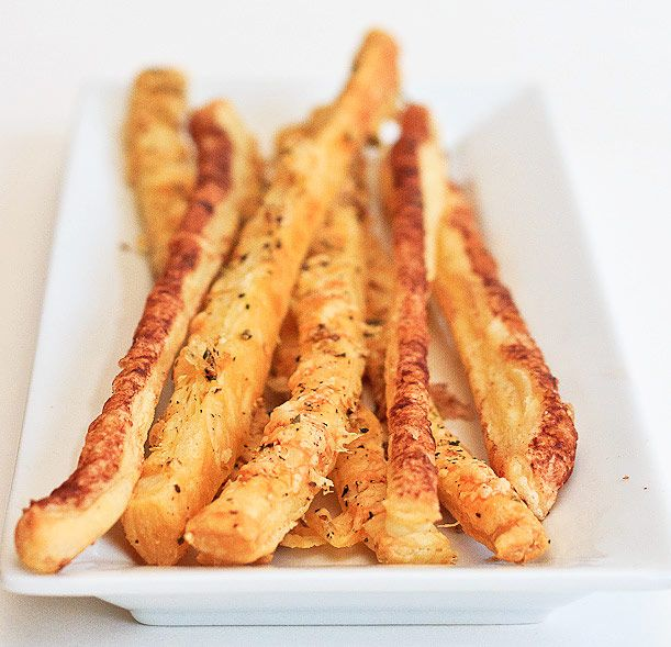 more reasons to use puff pastry. cheesy puff pastry sticks