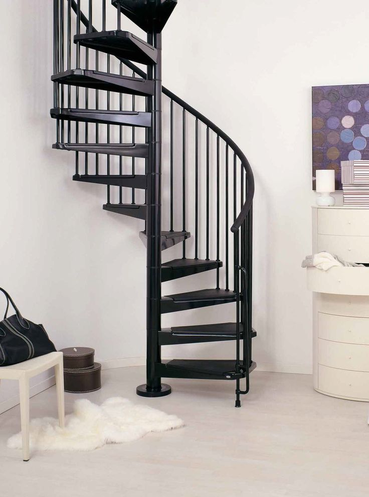 Spiral Staircase Kits Design: Spiral Staircase Kits Civic Black ~ Home Inspiration