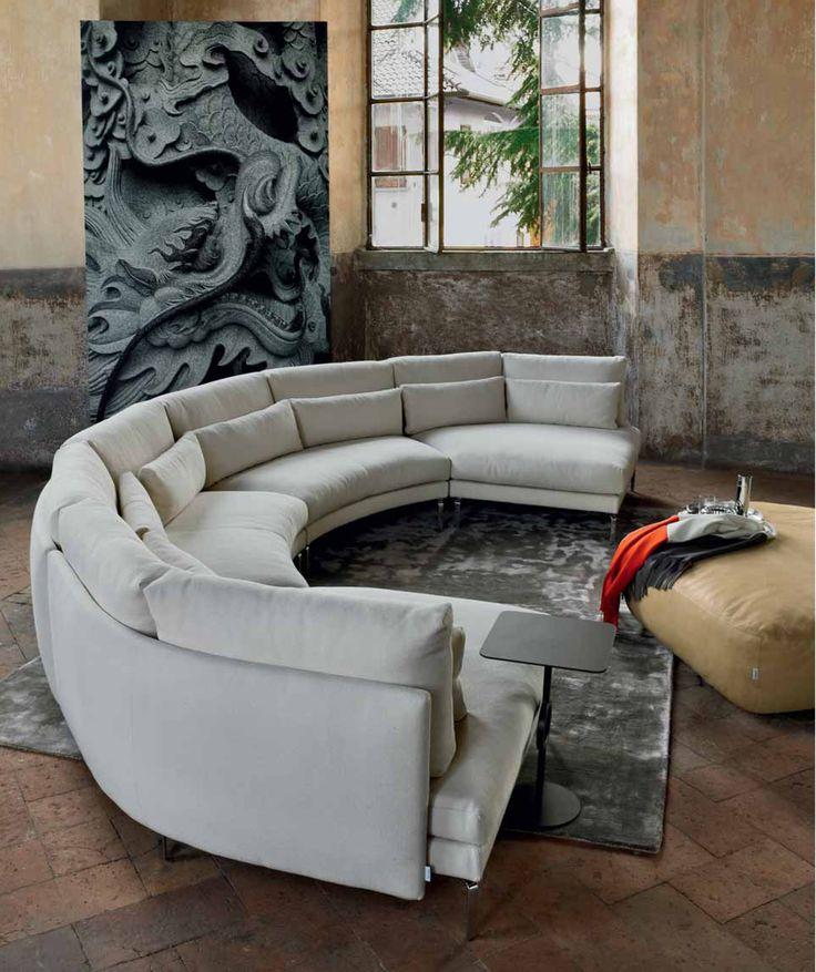 #canapea #coltar #canapea_moderna #canapele_lux #mobila_lux #mobilier #Galeriile_Noblesse #canapea_circulara