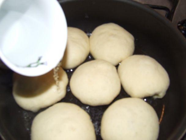 Parené pečené buchty na panvici (fotorecept) - obrázok 4