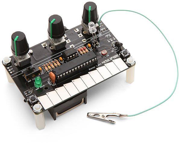 ThinkGeek :: Nebulophone Mini Arduino Synthesizer Kit