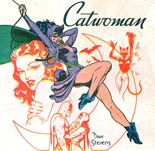 Cat woman!  #vintage  #comics  www.junkfoodclothing.comCat Woman, Cat Women, Comics Book, Catwomen, Dave Steven, Batman, Super Heroes, Catwoman Comicsway, Superhero