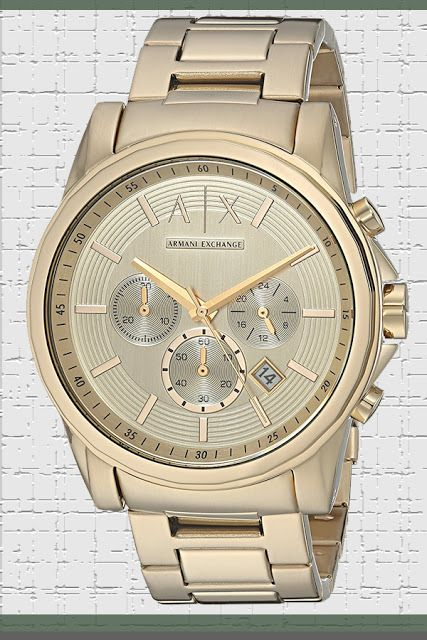 A/X Armani Exchange Outer Banks Chronograph Watch Price:     $117.00 & FREE Returns  #LuxuryArmaniWatches #LuxuryWatches #ArmaniWatches #MensWatches