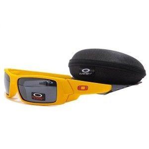 black and yellow oakley sunglasses 194m  Cheap Oakley Gascan Sunglasses black lens yellow frames Hot Sale On Oakley