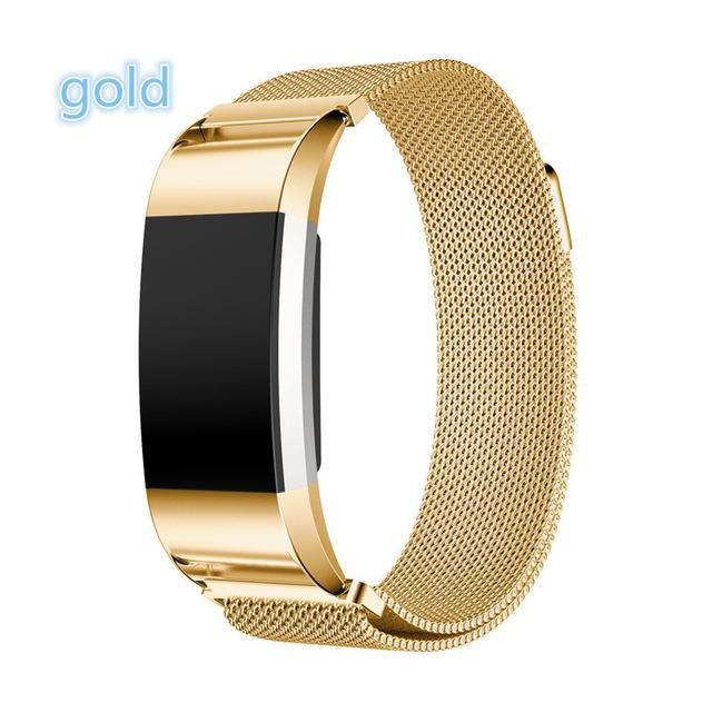 Stainless Steel Fitbit Band For Men and Woman