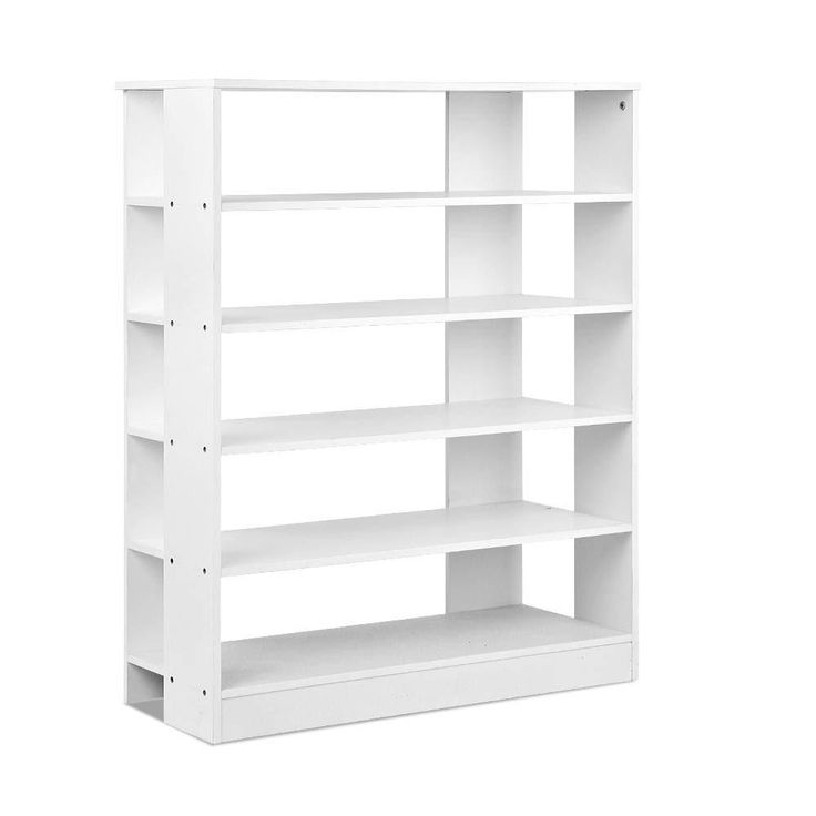 6-Tier Shoe Rack Cabinet White FURNI-C-SHOE-R5-WH  #buyonline #buyproductsnow #wevegotample #shippedfromaustralia #ampled #buynow