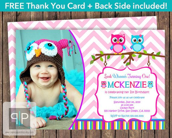 1000+ ideas about Owl Birthday Invitations on Pinterest   Owl ...