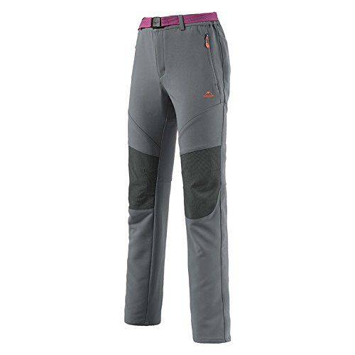 Introducing Womens Trousers Sport Pants Waterproof Hiking Trousers Outdoor Clothing Camping Casual PantsGray XL. Great Product and follow us to get more updates!