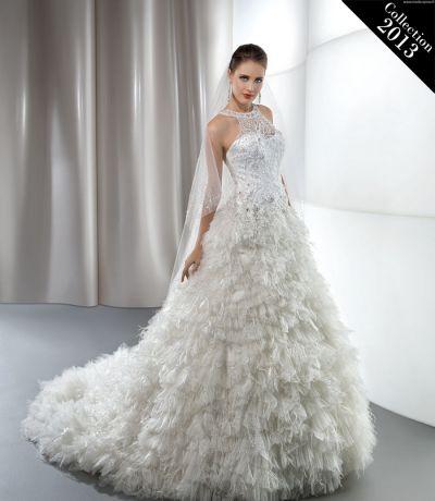 Robe de mariée blanche Demetrios