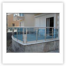 Balkon Korkulukları - Antalya Cam Balkon Windoor