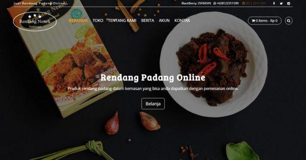 Rendang Nenek - Rendang Padang Online - http://rendangnenek.com
