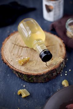 Sirop de gingembre. Facile et pratique pour parfumer des plats ou des desserts !