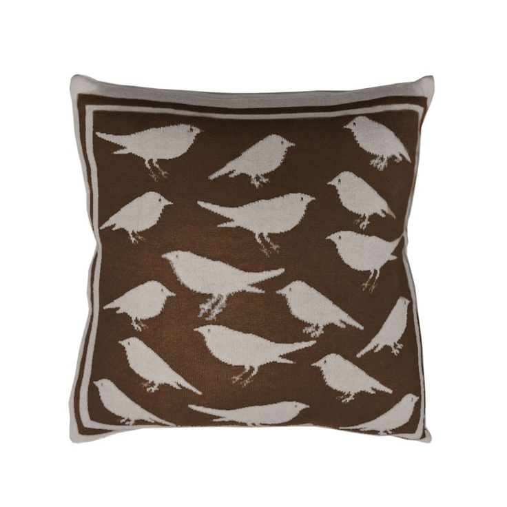 Chocolate Bird Toss Pillow. Oh, my <3Birds Prints, Decor Ideas, Stuff, Dreams, Chocolates Birds, Stones Birds, Toss Pillows, Throw Pillows, Birds Toss