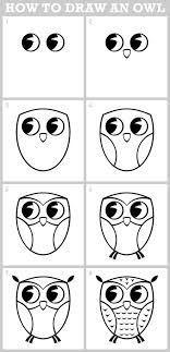 como dibujar un buho - Buscar con Google