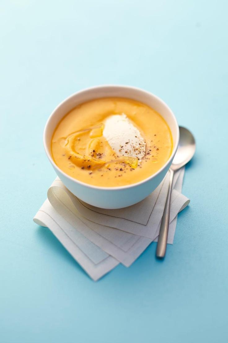 soupe potiron philadelphia picard recette cuisine. Black Bedroom Furniture Sets. Home Design Ideas