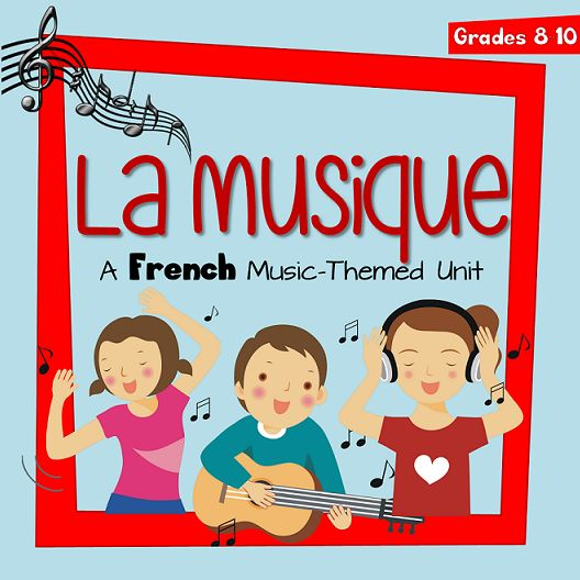 La Musique. French music unit.