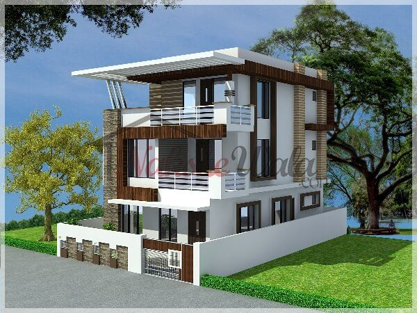 Front Elevation Of Small Residential House : Best residence elevations images on pinterest