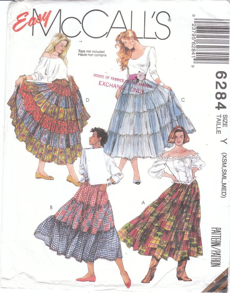 Image result for how to make a ruffled peasant skirt